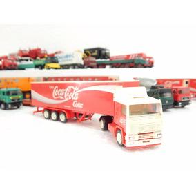 Lindo Caminhão Volvo F12 Carreta Coca Cola Ho 1:87 Albedo
