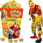 Kit Imprimible Piñon Fijo Payaso Candy Bar Y Cotillon 2x1