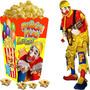Kit Imprimible Piñon Fijo Payaso Candy Bar Invitaciones 2x1