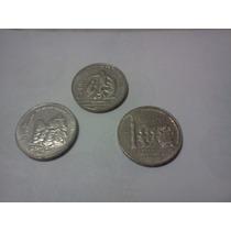Lote 3 Monedas De 200 Pesos Aniversarios Y Mundial 86