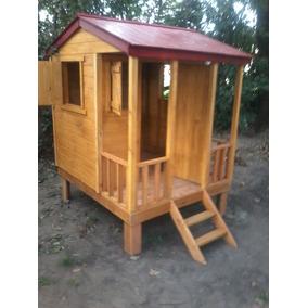 casitas infantiles de juegos en madera