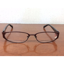 Lentes Carolina Herrera New York H112 Burgundy 52-16 135