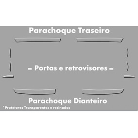 Kit Protetor De Parachoque Chevrolet S10 2012