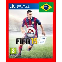 Fifa 15 Ps4 Codigo Psn Original1 Narrado Em Portugues