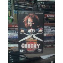 Vhs Original Chucky 2 Muñeco Diabólico Terror Leatherface