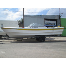 Lancha Tracker Albatros 640 Open Sport Matrizada Financiala
