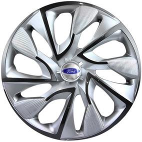 Calota Aro 14 Ds4 Esportiva Silver Ford Ka Fiesta Focus Ecos