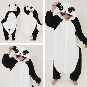 Onesie Pijama Kigurumi Kawaii Oso Panda China Bamboo