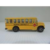 Bus Escolar Escala 1/64 School District 2 Cyw Wyc