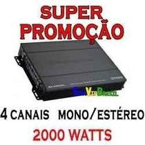Módulo Amplificador B.buster- 2000wt 4 Canais Pronta Entrega