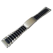 Pulseira Para Relógio Aço Pvc Timex Ironman Aqualand 22mm