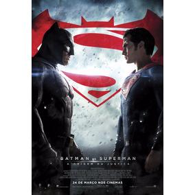 Poster Grande (imp. Offset) Do Batman Vs Superman - Ver. 16