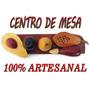 Frutas Talladas En Madera Centro De Mesa Adornos