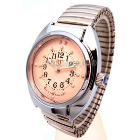 Relógio De Pulso Braille Feminino Pulseira Tipo Bracelete