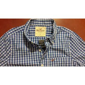 Camisa Hollister Original A Cuadros Fotos Reales C/ Etiqueta