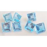 Onde Comprar Topazio Azul Carre 3mm. 3,00 Reais Por Pedra