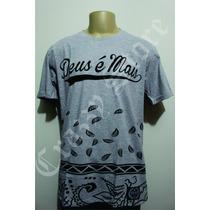 Camiseta Thiagão Deus É Mais Rap Gospel Diversa Crazzy Store
