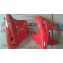 Carenagem Inferior Motor Dafra Riva 150 Vermelho (par)