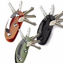 Clip Organizador De Llaves Smart Key Edc 5 Llaves Lote 10 Pz