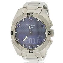 Tissot Para Hombre T T-touch Expert Solar Azul Dial Reloj