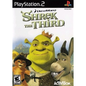 Jogo Patch Shrek 3 The Third Play2 Ps 2 Playstation 2 Play 2