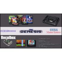 Recalbox Retropie Raspberry Retro + 2 Controles Snes Cooler