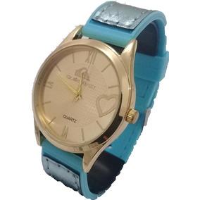 Relógio Quiksilver Feminino Analógico Dourado