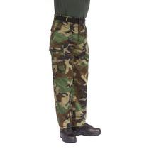 Pantalones Militares En Camu Woodland
