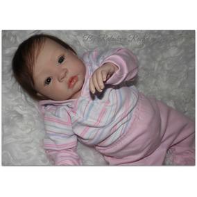 Vendo Bebê Reborn Carolina - Molde Shyann C/placa De Barriga