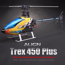 Helicóptero Align T-rex 450 Plus Dfc 3gx Combo 6ch 2.4ghz Rh