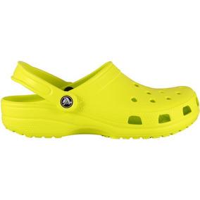 Zapato Crocs Caballero Classic Clog Citrus