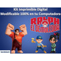 Kit Imprimible Para Tu Fiesta De Ralf El Demoledor
