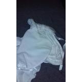 Vestidito De Bautismo Con Capa De Abrigo