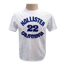 Kit C/ 10 Camisetas Camisas Bordada Abercrombie Hollister