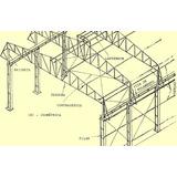 Projeto Estrutural Galpoes, Coberturas Metalicas, Mezaninos