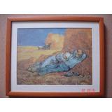 Imagen Del Cuadro La Siesta De Van Gogh