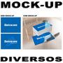 Mockup Canecas Cartões Visita Diversos Modelos