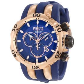 c7f71bb8d3e Rélogio Invicta 14504 Reserve Venom Azul Original Garantia - Joias e ...