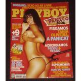Revista Playboy - Tânia Oliveira - Fev/2006 - Com Pôster