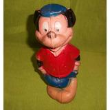 Viejo Muñeco De Mickey Mouse Goma C/chifle Walt Disney
