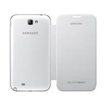 Samsung Galaxy Note 2 N7100 Flip Cover Original Blanco