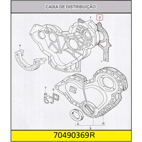 Junta Caixa Distribuiçao Motor 4236,4248,s4,4000 - Original