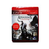 Assassins Creed Iii 3 Nuevo Ps3 - Playstation 3