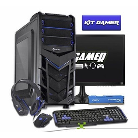 Pc Completo Gamer Com Wi-fi Ótimo Desempenho! Frete Gratis!