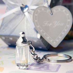 Llaveros Biberon Y Zapatito De Cristal Recuerdos Baby Shower