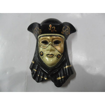 Mascara Porcelana Miniatura Veneciana Careta Carnaval