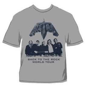 Camiseta Classic Petra Back To The Rock World Tour Gospel