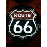 Placa Luminoso Route 66 N Neon Luminaria Enfeite Bar Display