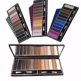3 Paletas Maquiagem Jasmyne Profissional Sombra Mac Luisance