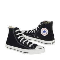 Converse Zapatos Dama Casuales Bota 22-25 Lona Negro